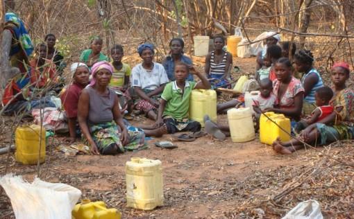 Spende Menschen Afrika