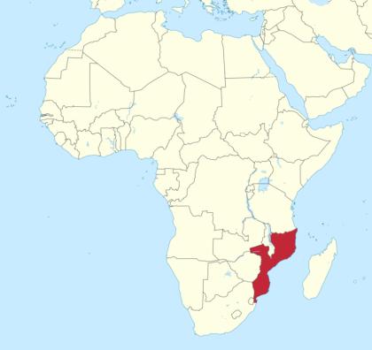Zumbo Mosambik Afrika