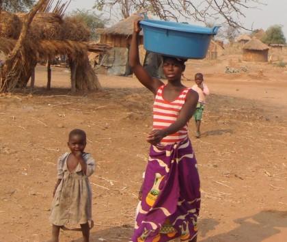 Mosambik Familie Hilfe